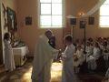 Boże Ciało i rocznica I Komunii Świętej w Kościele w Skórce