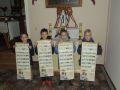 Modlitwa różańcowa uczniów ze Szkoły Podstawowej w Skórce